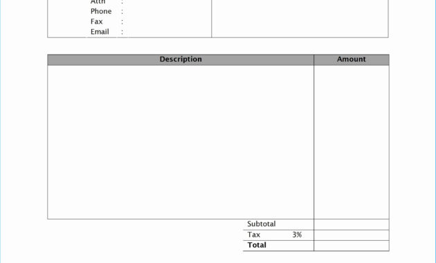Latest Invoice Template Word 2010 Which You Need To Make regarding Invoice Template Word 2010
