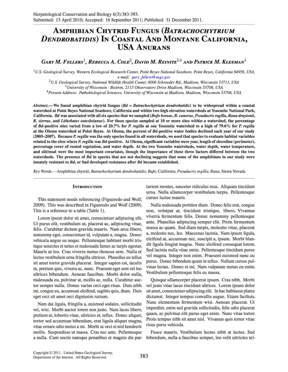 Latex Typesetting - Showcase within Journal Paper Template Word