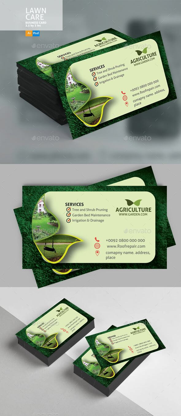 Lawn Care #business #card - Business Cards Print Templates within Lawn Care Business Cards Templates Free