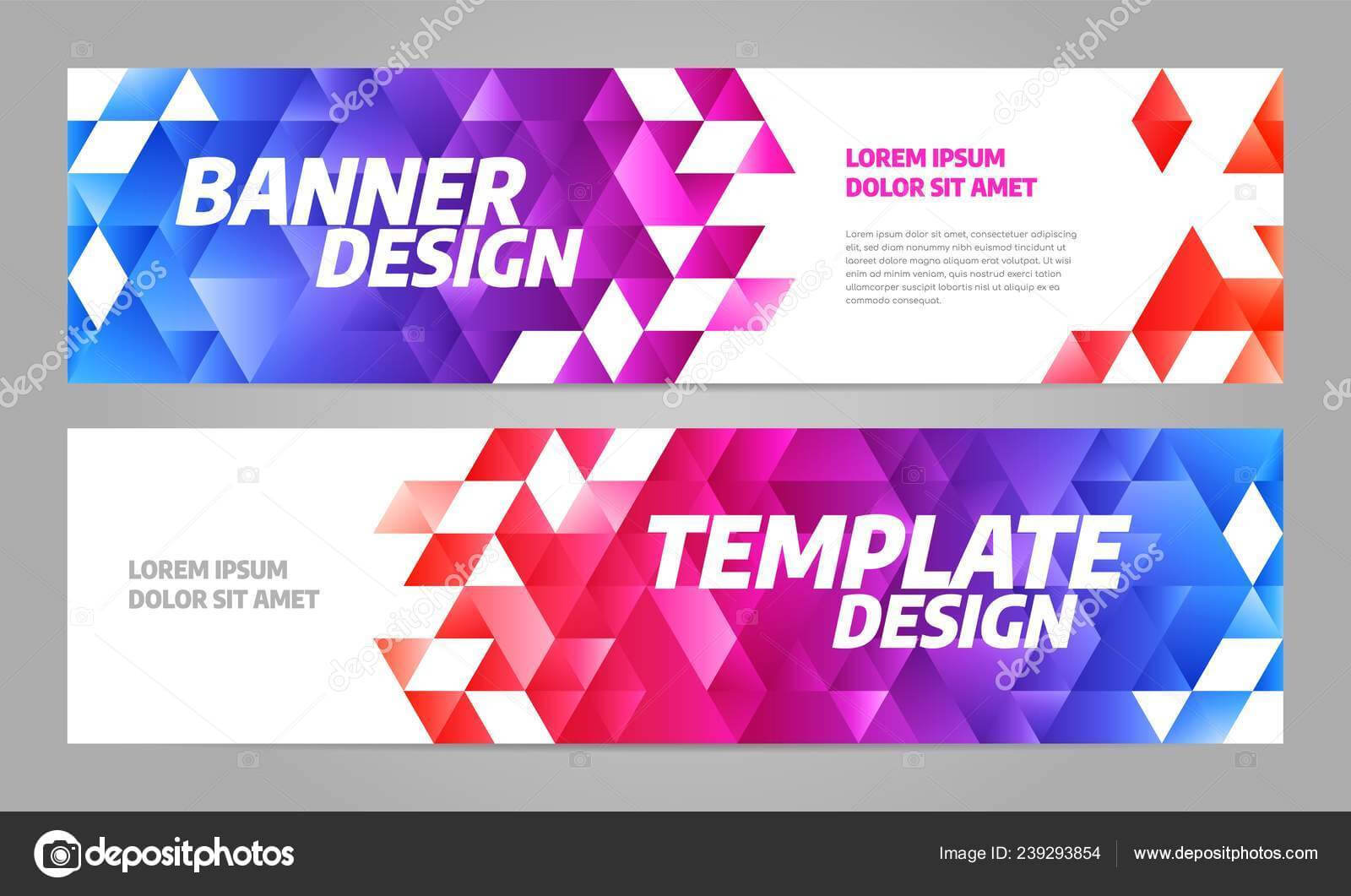 Layout Banner Template Design For Sport Event 2019 — Stock For Event Banner Template