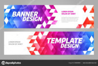 Layout Banner Template Design For Sport Event 2019 — Stock in Sports Banner Templates