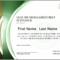 Lean Six Sigma Green Belt Certification In Finance With Green Belt Certificate Template