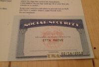 Leer En Línea 20+ Blank Social Security Card Template pertaining to Social Security Card Template Free