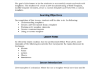 Lesson 6: Word Templates intended for Word 2010 Template Location