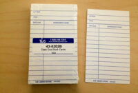 Library Card Template   A Three Hat Day regarding Library Catalog Card Template