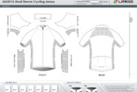 Limkoo pertaining to Blank Cycling Jersey Template