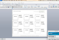 Line Sheet – Id11 for Word Catalogue Template