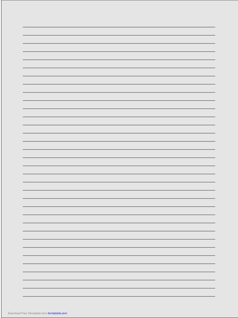 Lined Paper - 320 Free Templates In Pdf, Word, Excel Download inside Ruled Paper Template Word