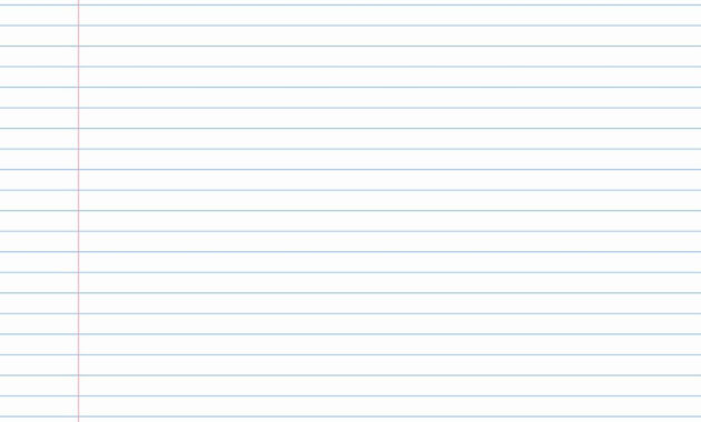Lined Paper Powerpoint Backgrounds Notebook Template For within Notebook Paper Template For Word