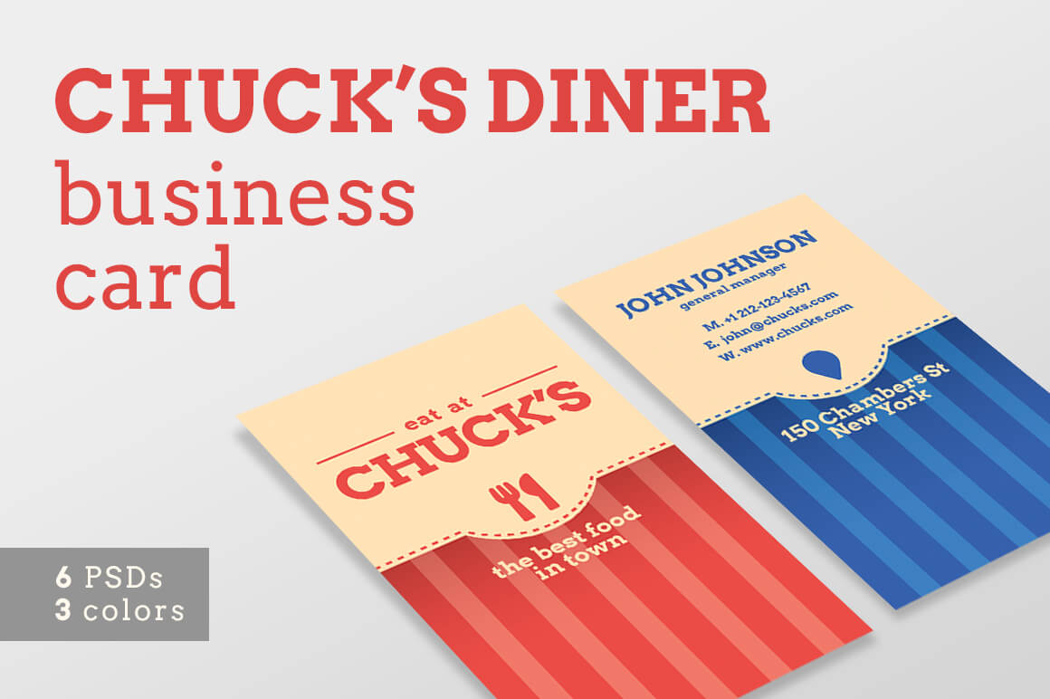 Local Diner Business Card Templates in Frequent Diner Card Template