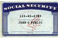 Lost Your Social Security Card? You Might Now Be Able To Get in Editable Social Security Card Template