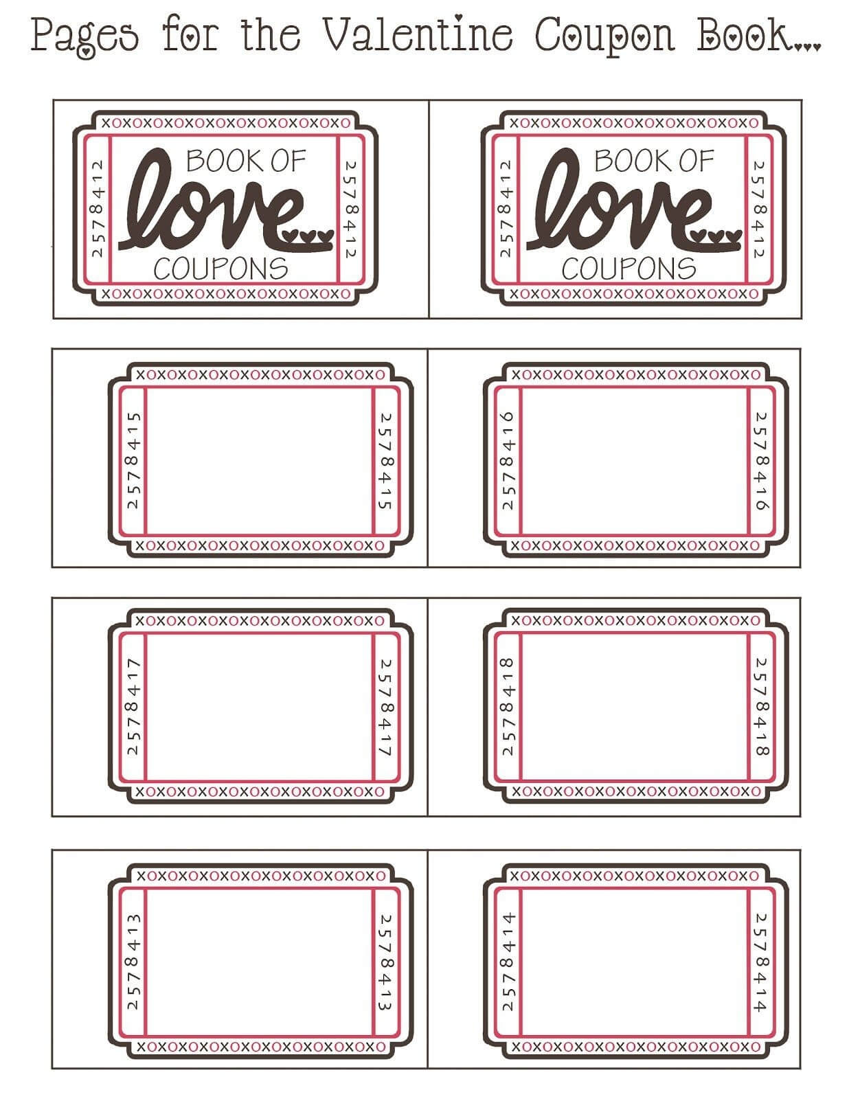 Love Coupon Template Microsoft Word | Examples And Forms Throughout Coupon Book Template Word