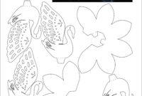 Love Swan 3D Pop Up Card 2 | Pop-Up I Kirigami Pattern | Pop with regard to Diy Pop Up Cards Templates