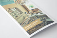 Luxurious Hotel Pamphlet Design Template | Pamphlet Design throughout Hotel Brochure Design Templates