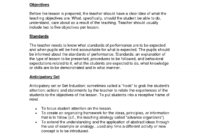 Madeline Hunter Lesson Plan Template Word – Tosya.magdalene for Madeline Hunter Lesson Plan Blank Template