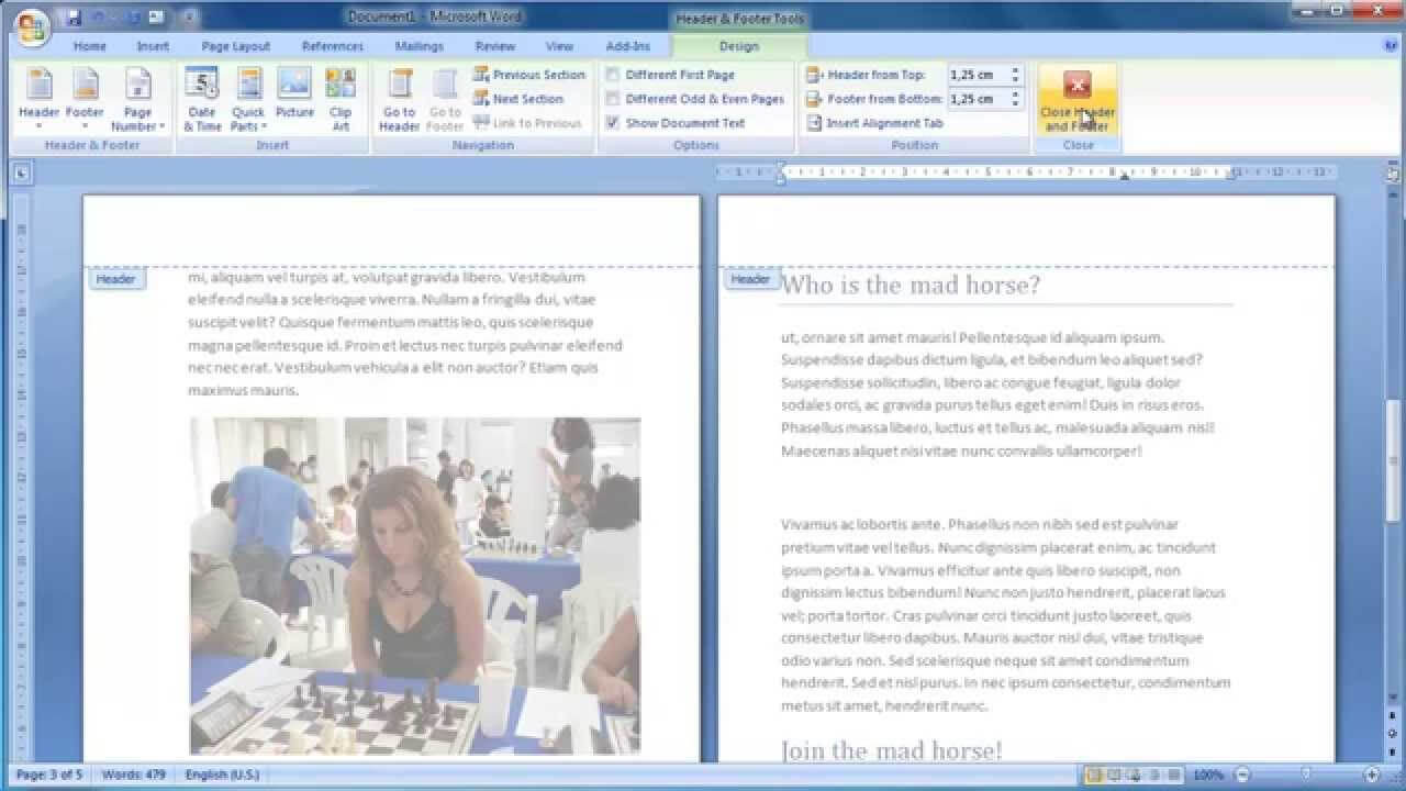 Make A Booklet From Scratch In Word 2007 Intended For Booklet Template Microsoft Word 2007