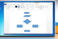 Make A Flowchart In Microsoft Word 2013 intended for Microsoft Word Flowchart Template