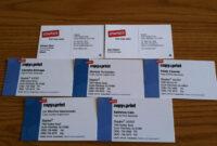 Make Your Custom Blank Business Card Template Staples with Staples Business Card Template
