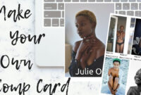 Make Your Own Model Comp Card ◊ Frameambition with regard to Model Comp Card Template Free