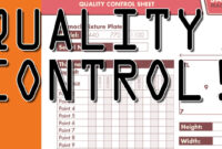 Making A Quality Control Sheet! Cb54 intended for Machine Shop Inspection Report Template