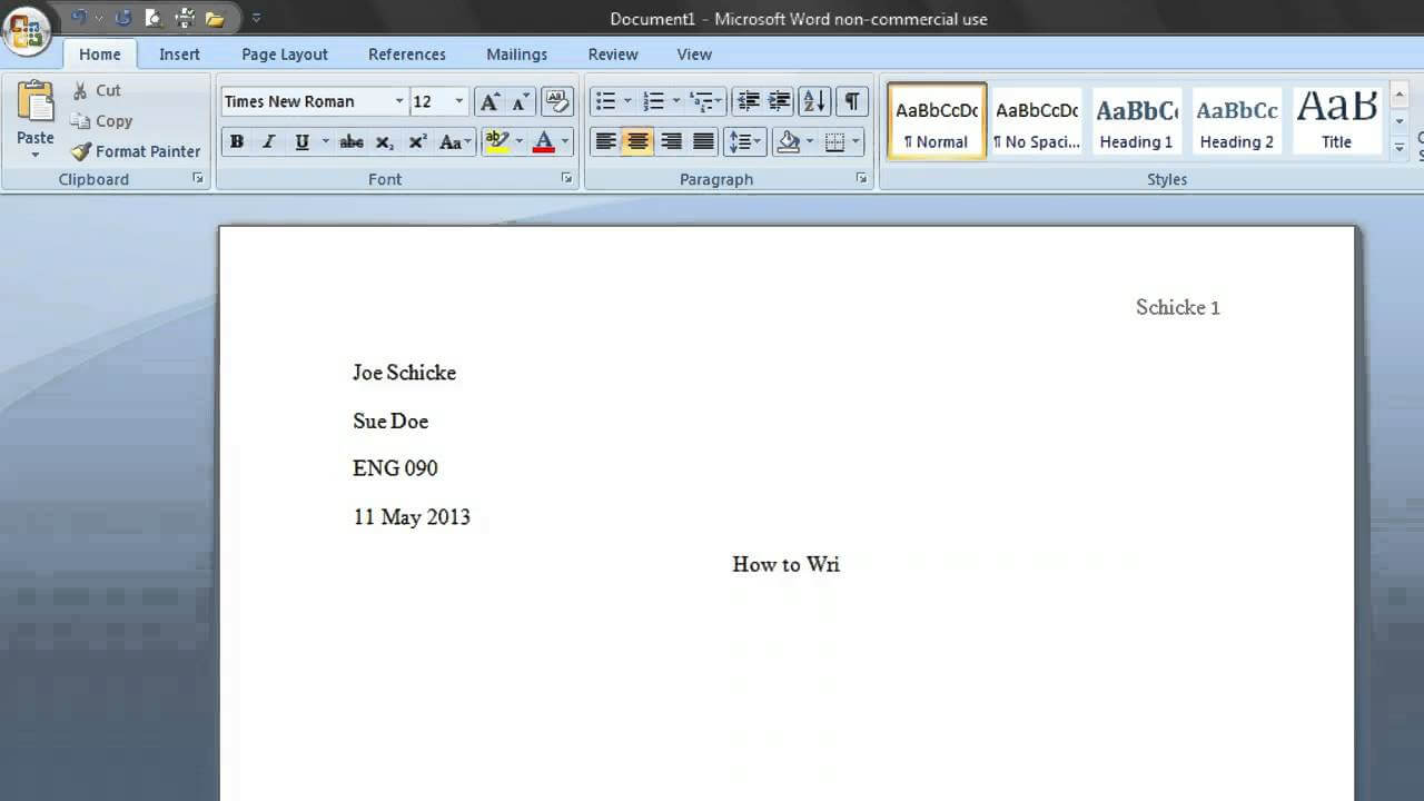 Making An Mla Template with regard to Mla Format Word Template