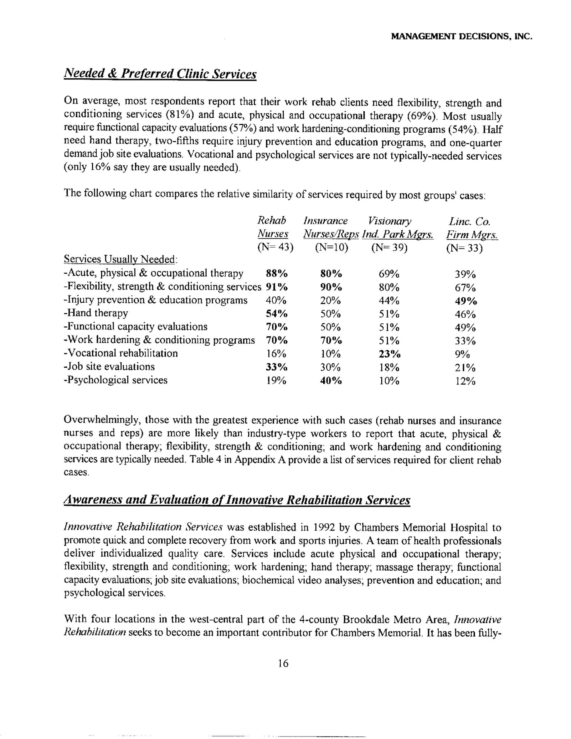 Market Analysis Report (Example Research) – Management Pertaining To Industry Analysis Report Template