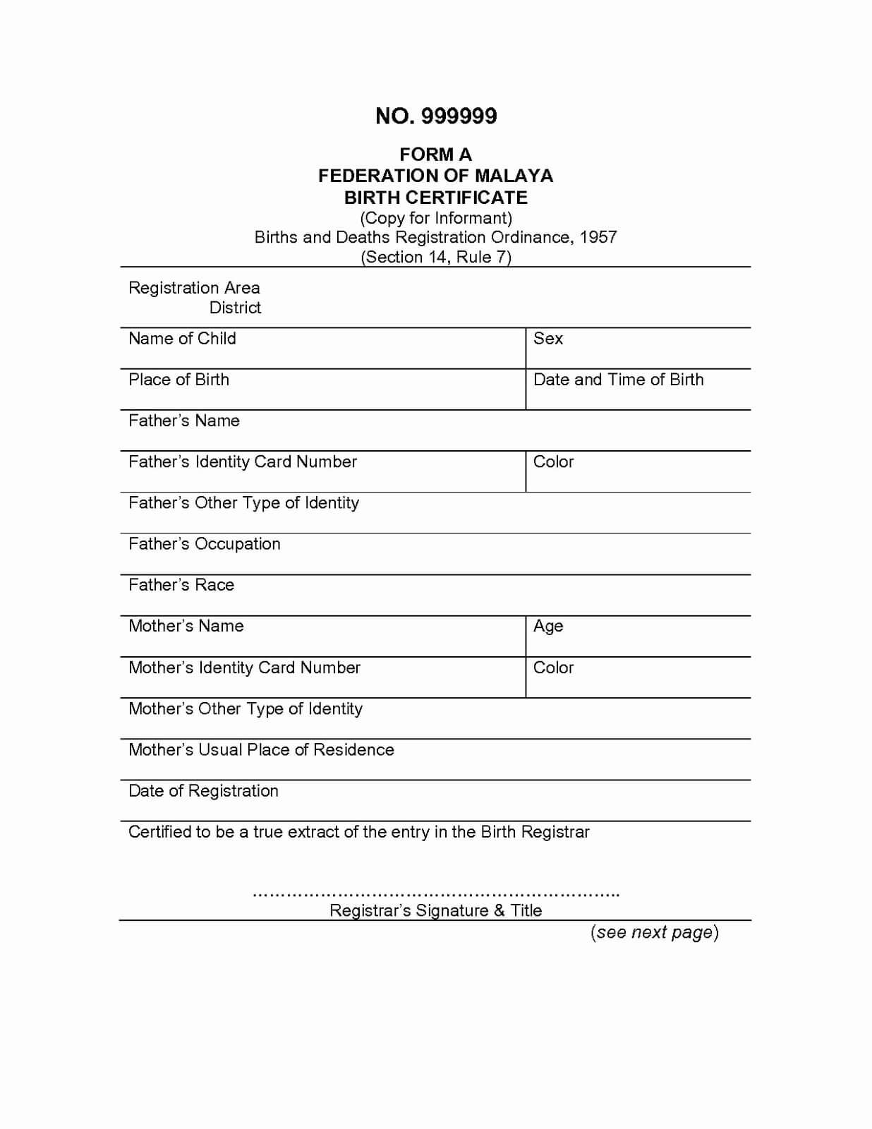 Marriage Certificate Translation Template - Atlantaauctionco in Uscis Birth Certificate Translation Template