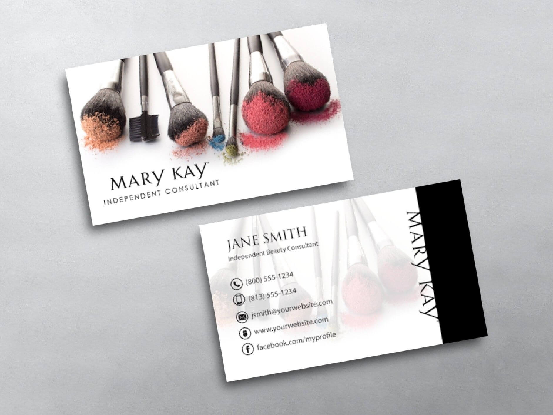 Mary Kay Business Cards In 2019 | Mary Kay, Makeup Artist throughout Mary Kay Business Cards Templates Free