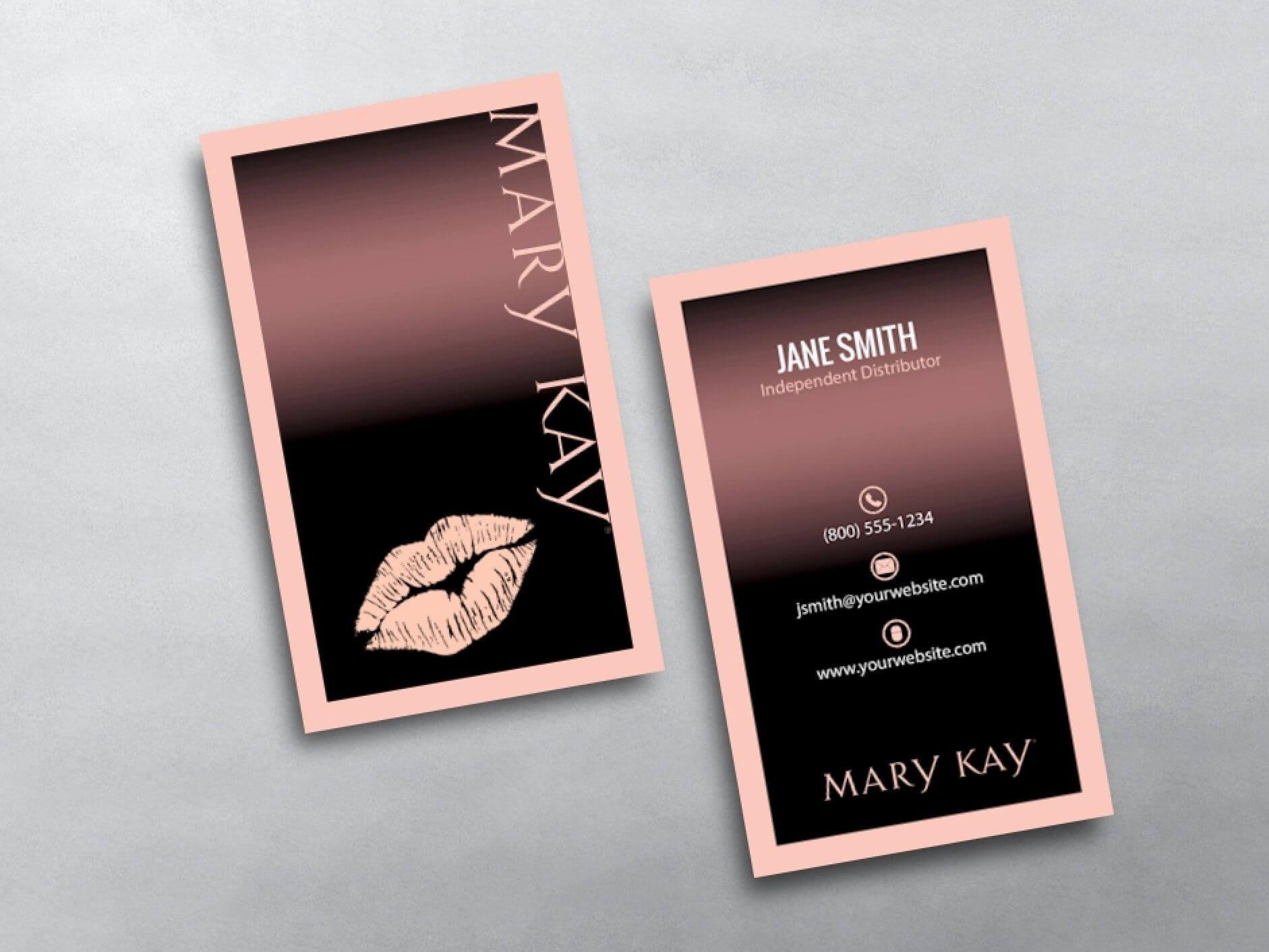 Mary Kay Business Cards In 2019 | Mary Kay, Mary Kay with Mary Kay Business Cards Templates Free