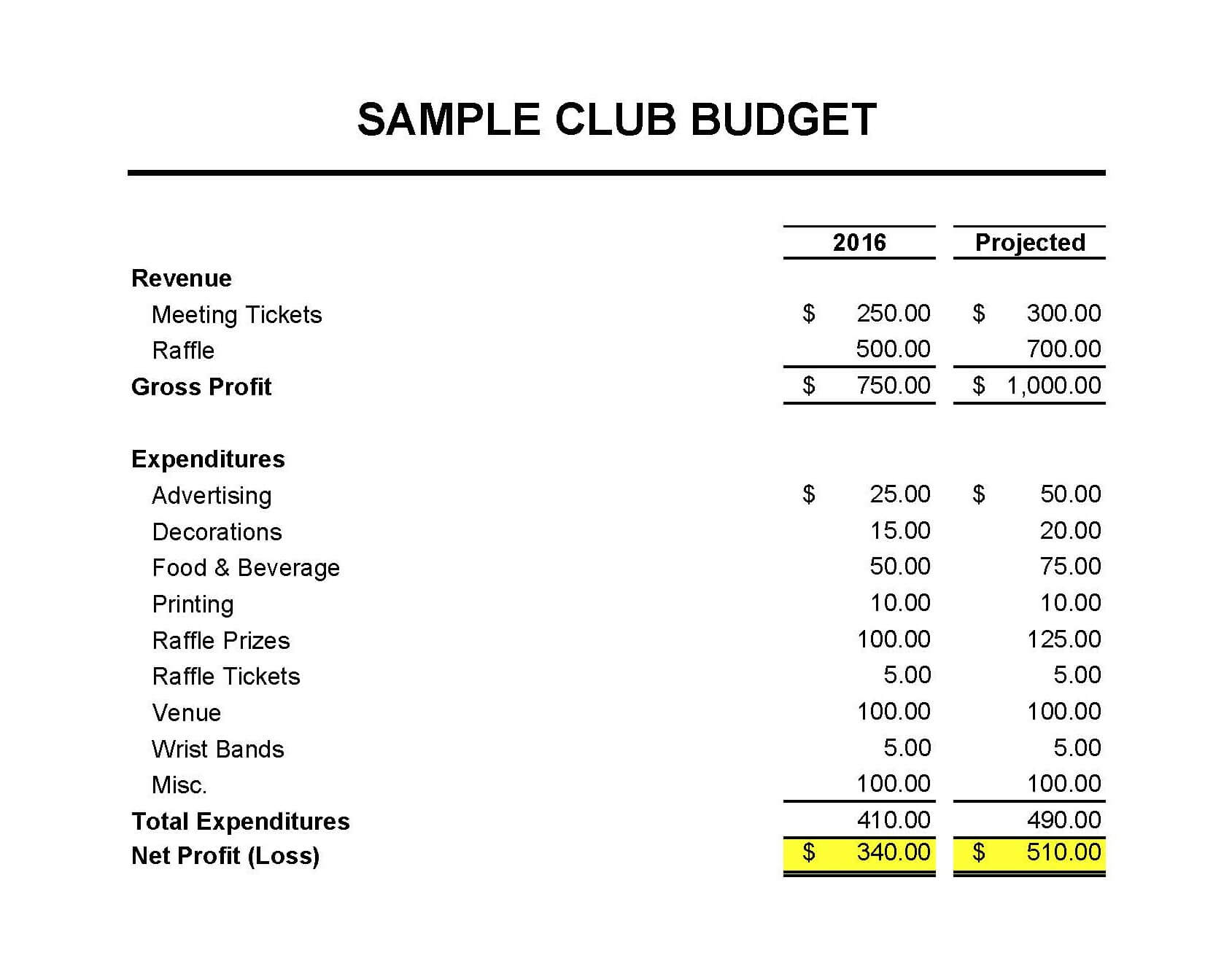 Masna » Club Accounting 101 pertaining to Treasurer Report Template Non Profit