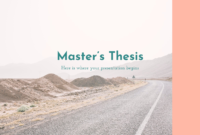 Master's Thesis – Free Presentation Template For Google throughout Powerpoint Templates For Thesis Defense