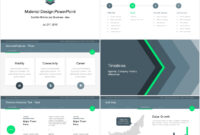 Material Design Powerpoint Template – Just Free Slides for Powerpoint 2007 Template Free Download