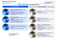 Mckinsey 7S Framework Templates | Infographic Templates regarding Mckinsey Consulting Report Template