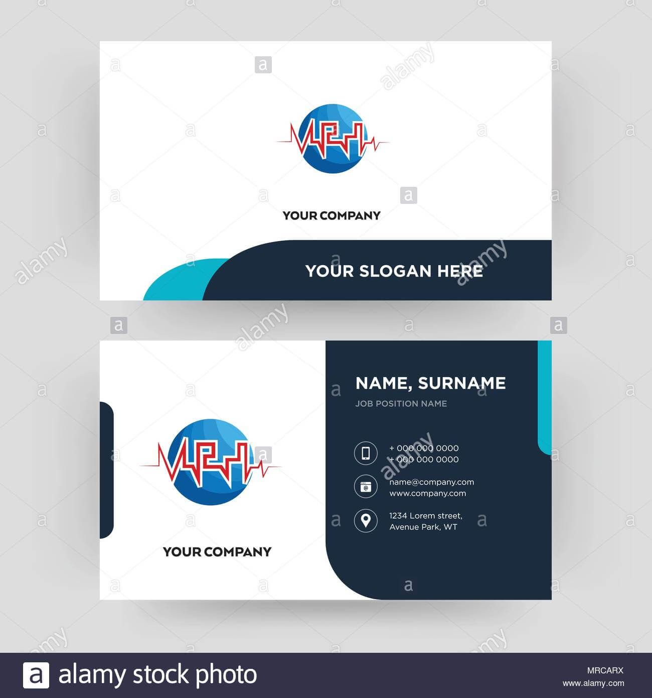 Med, Business Card Design Template, Visiting For Your within Med Card Template