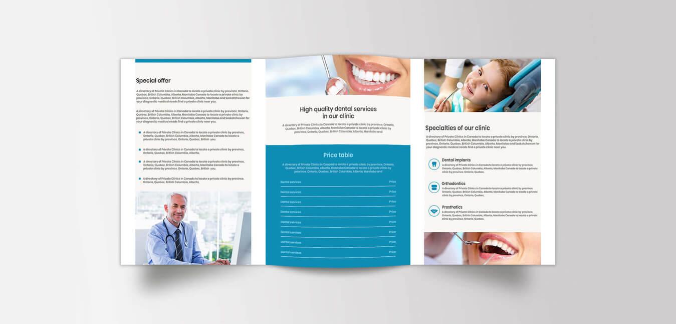 Medical Brochure Design – Creative Medical Office Brochure regarding Medical Office Brochure Templates