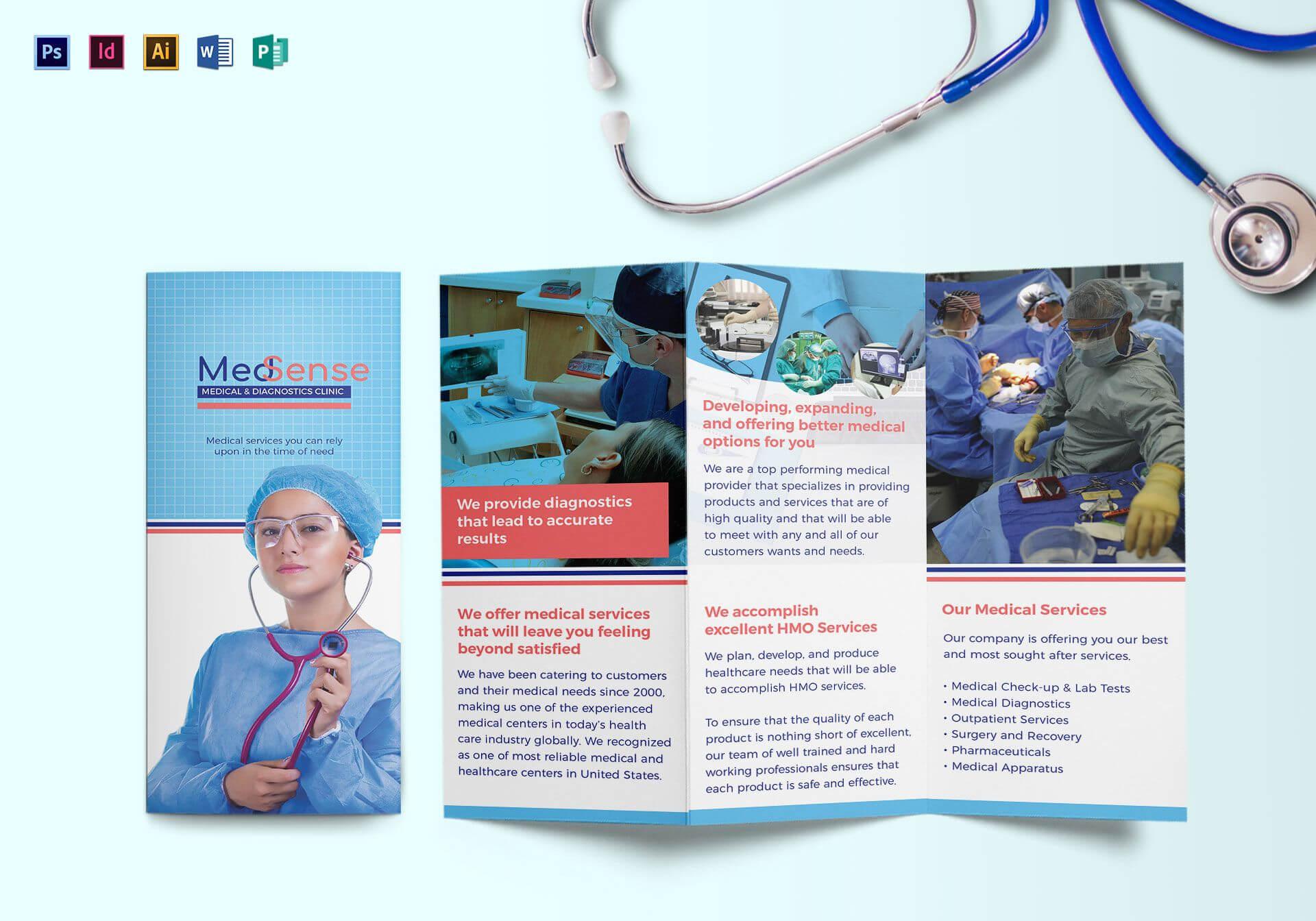 Medical Brocure - Major.magdalene-Project within Medical Office Brochure Templates
