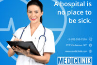 Medical Care Clinic Banner Template With Medical Banner Template