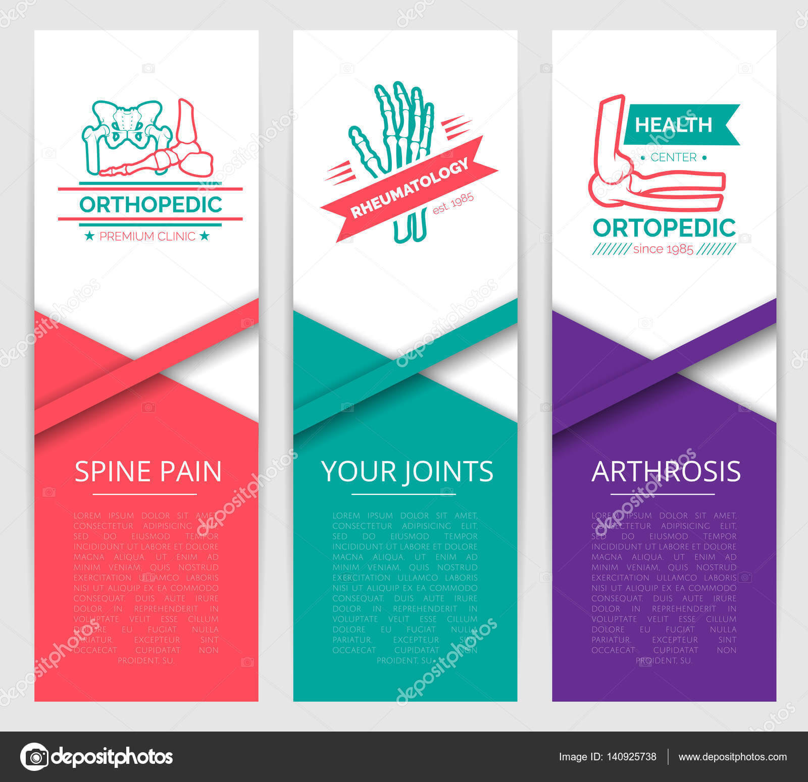 Medical Diagnostic Clinic Banner Template Design — Stock Regarding Medical Banner Template