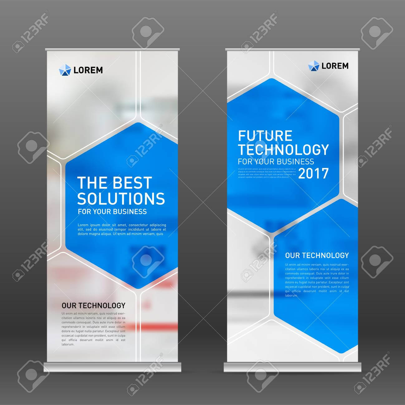 Medical Roll Up Banner Design Layout. Vertical Banner Design.. pertaining to Medical Banner Template