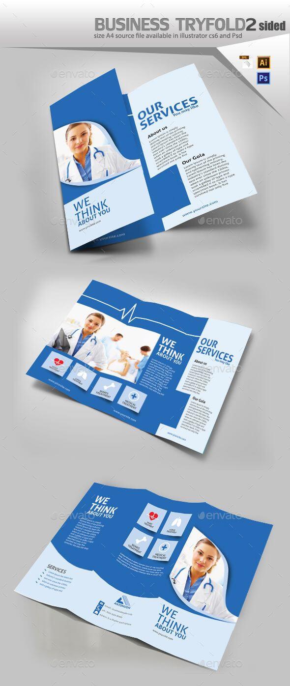 Medical Trifold Brochure | Graphics | Brochure Design for Medical Office Brochure Templates