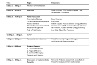 Meeting Agenda Word Template – Bookletemplate with regard to Free Meeting Agenda Templates For Word