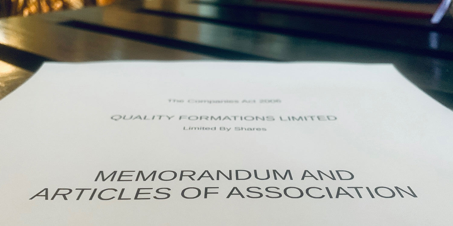 Memorandum And Articles Of Association For Uk Limited Companies for Share Certificate Template Companies House