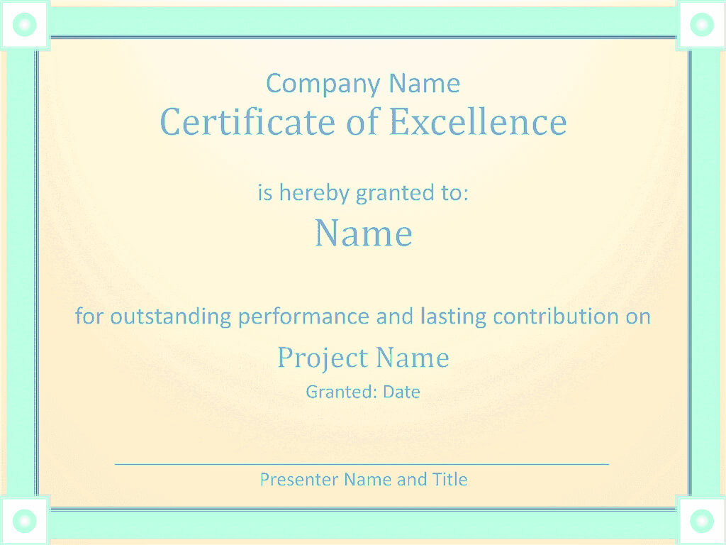 Microsoft Office Award Certificate Template - Yupar throughout Microsoft Office Certificate Templates Free