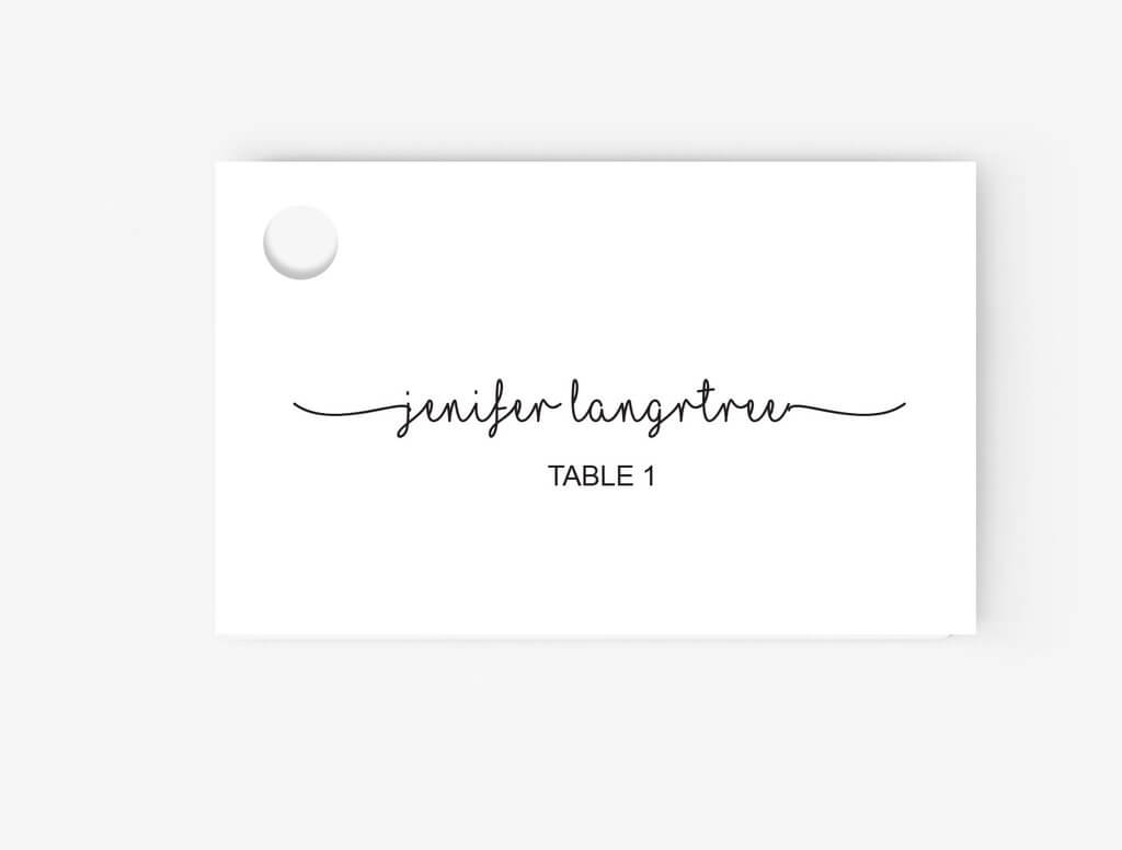 Microsoft Office Place Card Templates - Yupar.magdalene within Ms Word Place Card Template