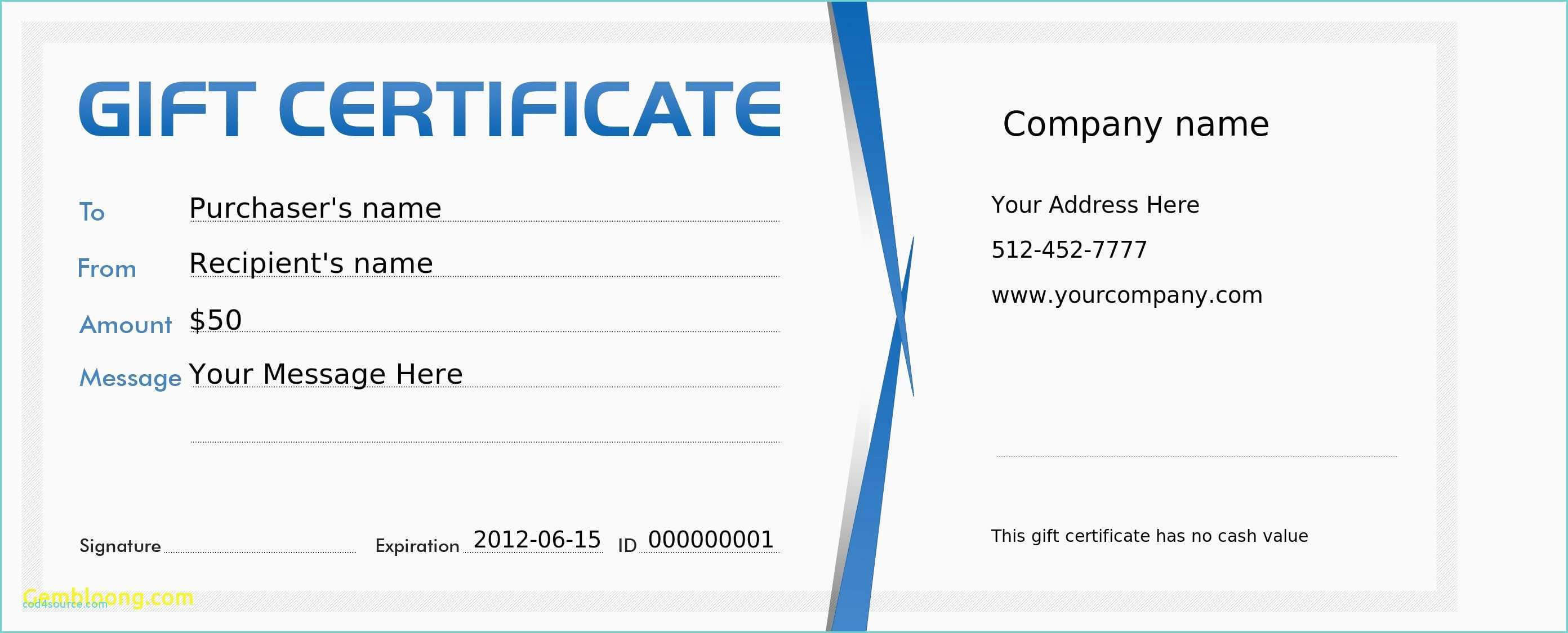 Microsoft Publisher Gift Certificate Template – Teplates For Within Gift Certificate Template Publisher