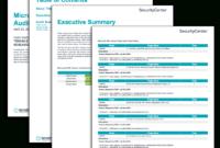 Microsoft Sql Server Audit Results – Sc Report Template for Information System Audit Report Template
