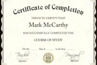 Microsoft Word Award Template Free Sample Flyers Company pertaining to Certificate Of Completion Template Word
