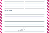 Microsoft Word Recipe Card Template – Atlantaauctionco inside Microsoft Word Recipe Card Template