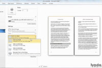 Microsoft Word Tutorial: How To Print A Booklet | Lynda in How To Create A Book Template In Word