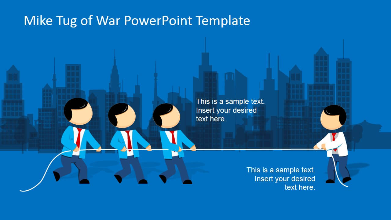 Mike Tug Of War Powerpoint Template pertaining to Powerpoint Templates War